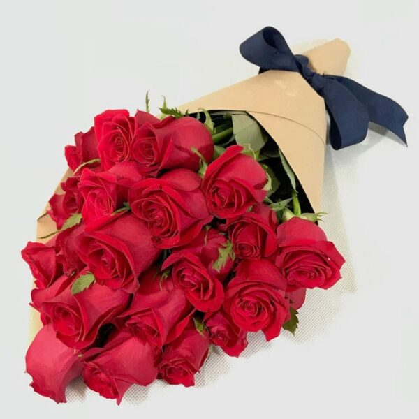 24 secretos en Puebla, Ramo de rosas rojas,  Florerías en Puebla, Flores a domicilio Puebla