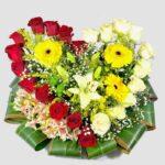 Alma floral  en Puebla, Corazon de flores,  Florerías en Puebla, Flores a domicilio Puebla
