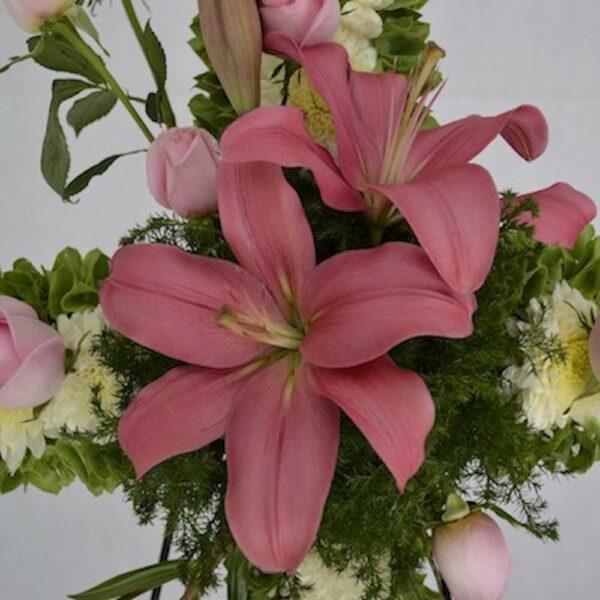 Alma rosa  en Puebla, Arreglo funebres,  Florerías en Puebla, Flores a domicilio Puebla