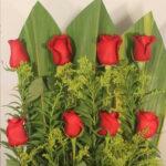 Amor Mágico -  Arreglo con rosas rojas