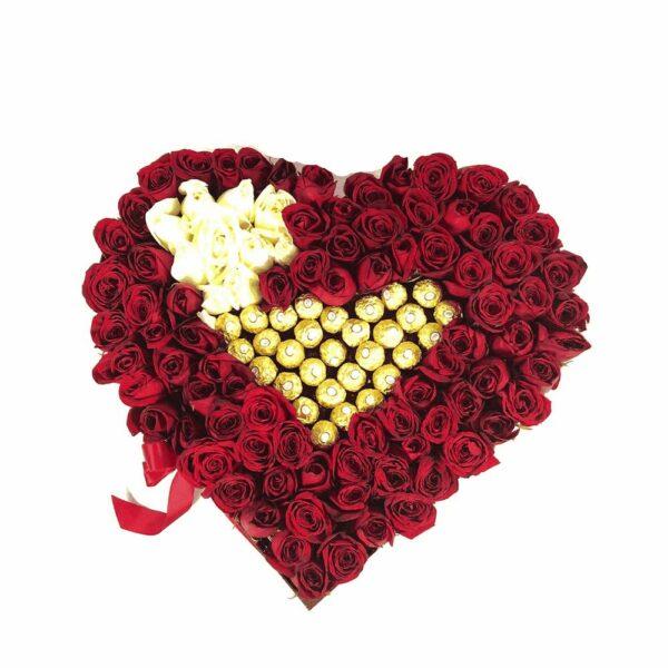 Caja de flores Querétaro, Florerías en Querétaro, Flores a domicilio Querétaro
