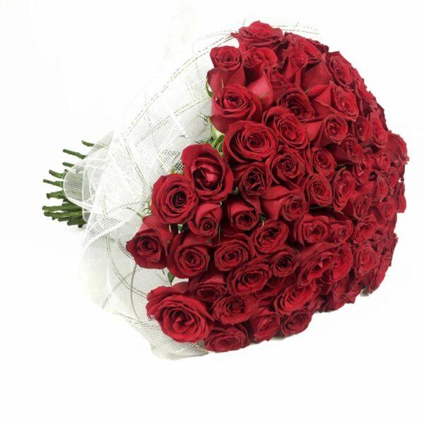 Besos apasionados en Puebla, Ramo de 100 rosas, Florerías en Puebla, Flores a domicilio Puebla