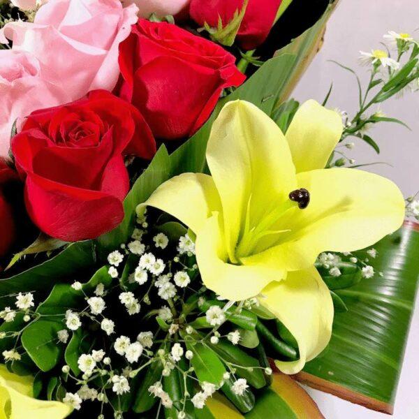Cariño mío en Puebla, Corazon de rosas rojas, Florerías en Puebla, Flores a domicilio Puebla