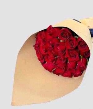Diamante en Puebla, Ramo de rosas rojas,  Florerías en Puebla, Flores a domicilio Puebla