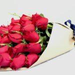 Fuente de luz - Ramo de rosas rojas