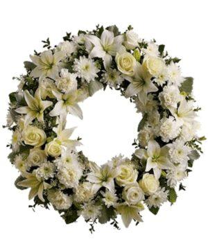 Sueños de Luz en Puebla, Corona Funebre, Florerías en Puebla, Flores a domicilio Puebla