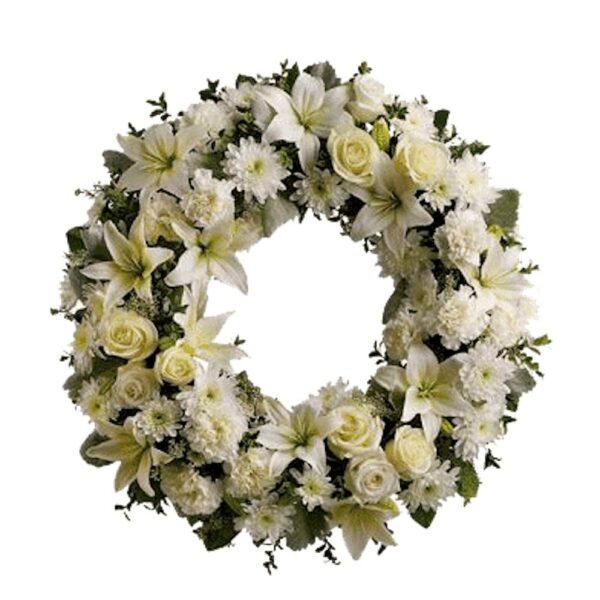 Arreglo de flores fúnebre Querétaro, Florerías en Querétaro, Flores a domicilio Querétaro