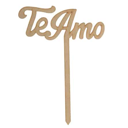 "Letrero ""Te Amo"""