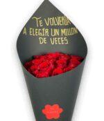 Un millón de veces, Bouquet de Rosas en Puebla, Bouquet de rosas, florerías en Puebla