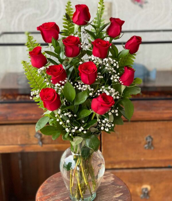 Mi mundo, Jarron con rosas en Puebla, Caja de rosas, florerías en Puebla