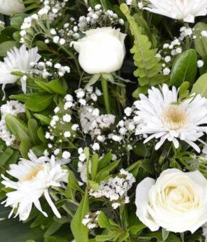 Conquistador, Arreglo de flores fúnebre Querétaro, Florerías en Querétaro, Flores a domicilio Querétaro