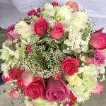 Jarrón de flores y rosas Querétaro, Florerías en Querétaro, Flores a domicilio Querétaro