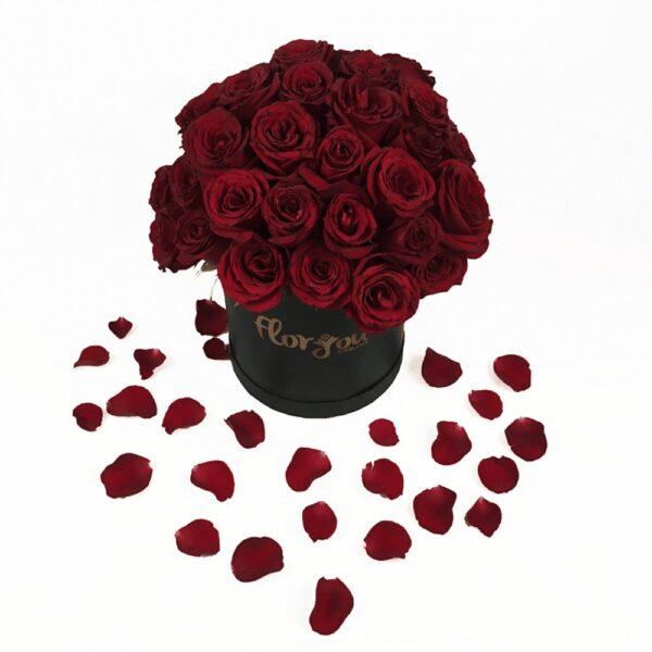 Secretos de amor, Caja de rosas Querétaro, Florerías en Querétaro, Flores a domicilio Querétaro
