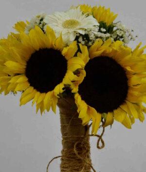 Ramo de girasoles Querétaro, Florerías en Querétaro, Flores a domicilio Querétaro