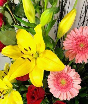 Suspiros delicados, Arreglo de flores Querétaro, Florerías en Querétaro, Flores a domicilio Querétaro