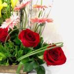 Suspiros delicados - Arreglo de rosas rojas