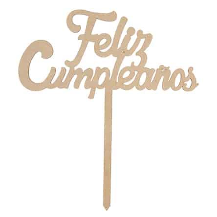 """Letrero """"Feliz Cumpleaños"""""""