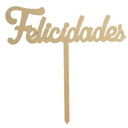 """Letrero de """"Felicidades, Te Amo ó Feliz cumpleaños"""""""