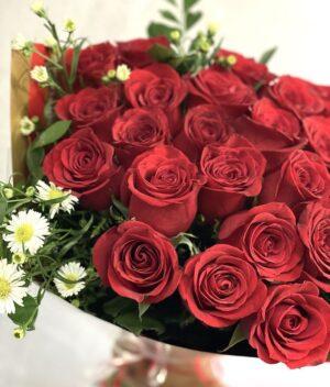 Cautivo clásico, ramo de rosas en Querétaro, ramo de rosas, florerías en Querétaro