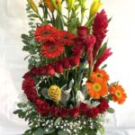 Contención floral, arreglo de flores en Querétaro, arreglo de flores, florerías en Querétaro