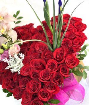 Flechazo, arreglo de rosas en Querétaro, arreglo de rosas, florerías en Querétaro