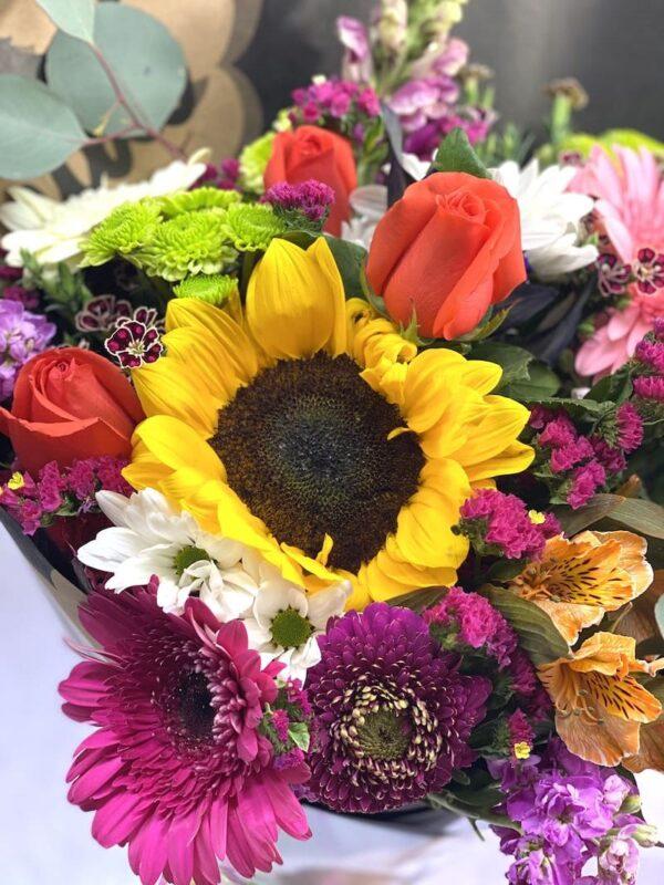 Hechizo de color, ramo de flores en Querétaro, ramo de flores, florerías en Querétaro