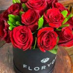 Amor de tí, caja de rosas en Querétaro, caja de rosas, florerías en Querétaro