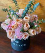 Lady. Caja de rosas y claveles, Florerías en Querétaro