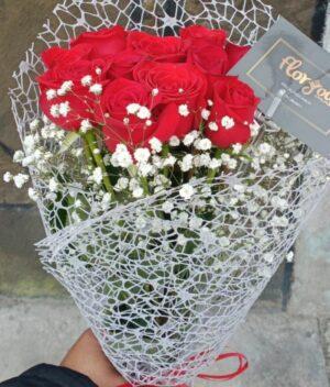 Ramos de rosas rojas, florerias en Pachuca, Envío de flores a domicilio Pachuca