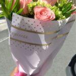 Ramos de rosas rosas, florerias en Pachuca, Envío de flores a domicilio Pachuca