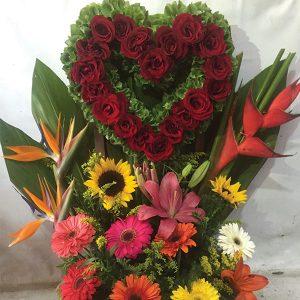 """Arreglos Florales - """"Un corazón"""""""