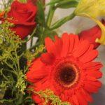 Sonrisa de Amor - Bolsa con Flores Grande