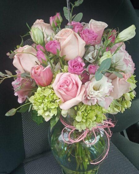 Jarrón de flores, florerias en Pachuca, Envío de flores a domicilio Pachuca