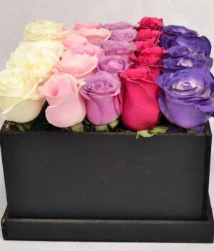 Caja de flores, florerias en Pachuca, Envío de flores a domicilio Pachuca