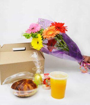 Desayuno americano, florerias en Pachuca, Envío de flores a domicilio Pachuca