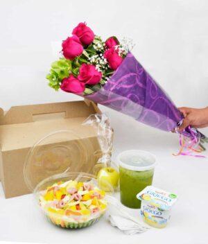Desayuno sorpresa, florerias en Pachuca, Envío de flores a domicilio Pachuca