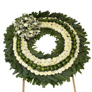 Corona de flores pachuca