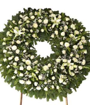 Arreglo funebres, Caja de rosas mediana, florerias en Pachuca, Envío de flores a domicilio Pachuca