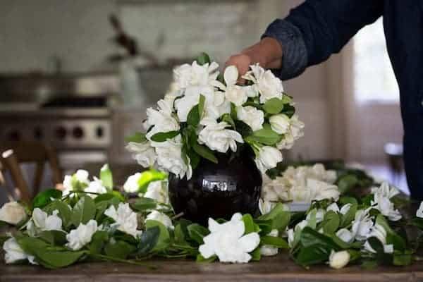 gardenias para un velatorio o nevenario