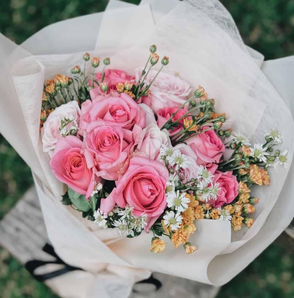 ramo de flores en pachuca