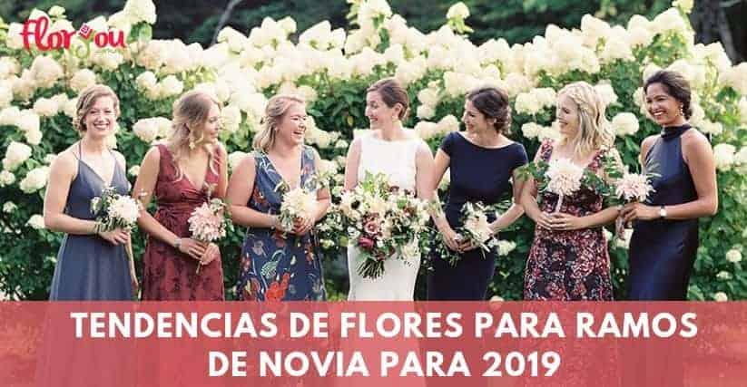 tendencias ramos de novia 2019