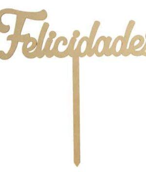 Letrero Felicidades en Flores a domicilio en Pachuca.