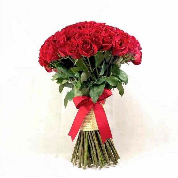 bouquet de rosas rojas - bouquet de 100 rosas - florerías pachuca