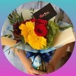 Tu y yo, piénsalo - Video animado digital + flores