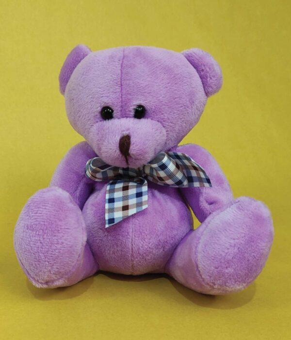 Mini oso morado - Peluche oso
