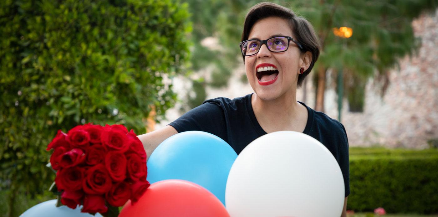 envía flores a domicilio en Puebla y regala una sonrisa